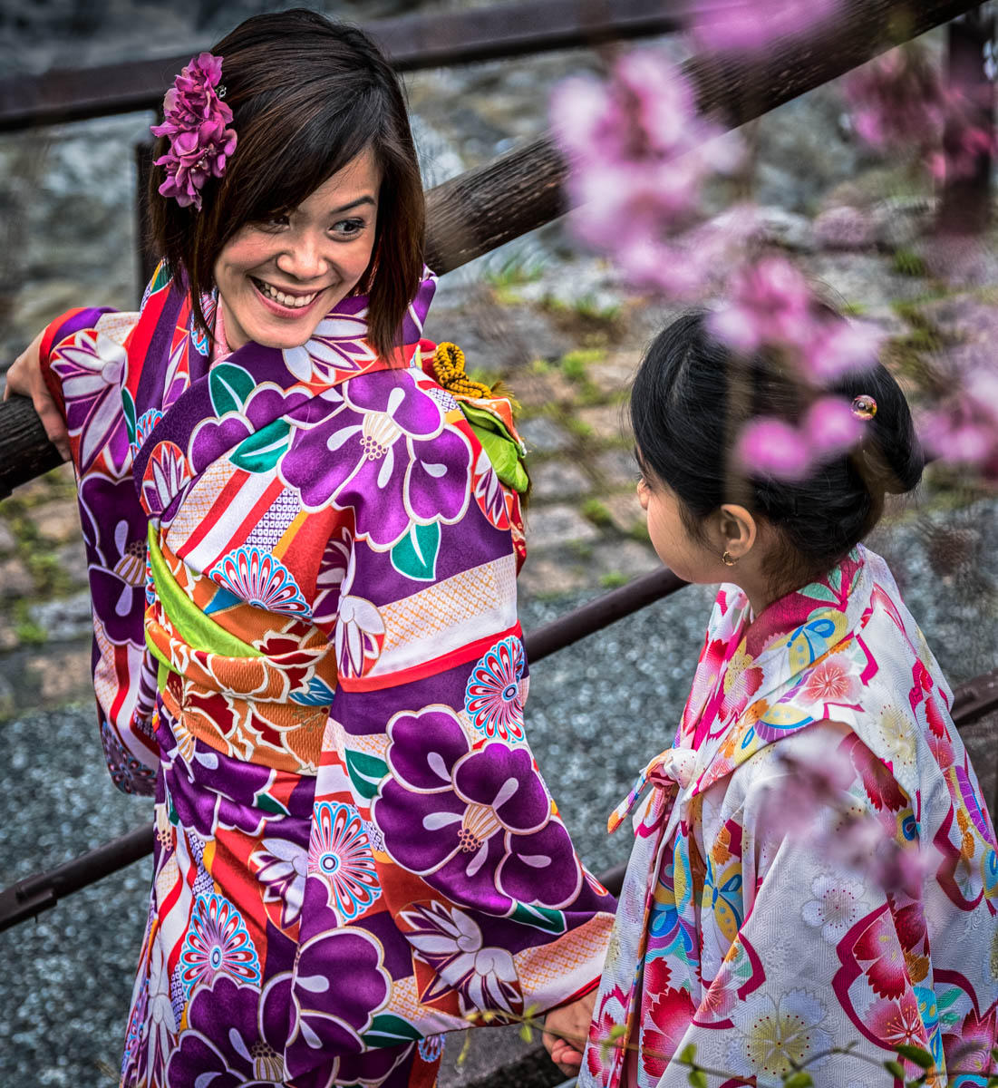 Mother Daughter ,Kyoto