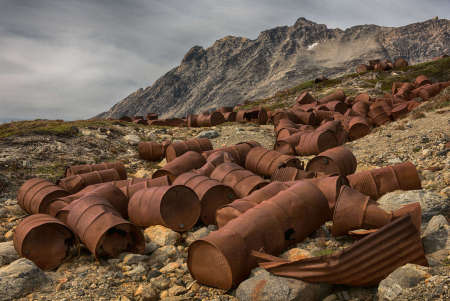 Abandoned American Air Base, East Greenland