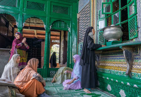 Shah ali Hamdan shrine (green mosque), Srinagar