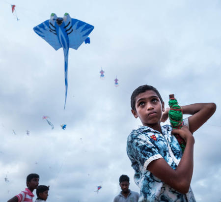 Negombo Beach Kite Festival