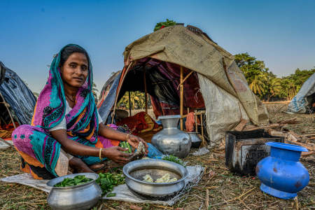 Banjara girls, gypsies, Bangladesh
